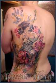 aquarell_watercolor_tattoo_godess